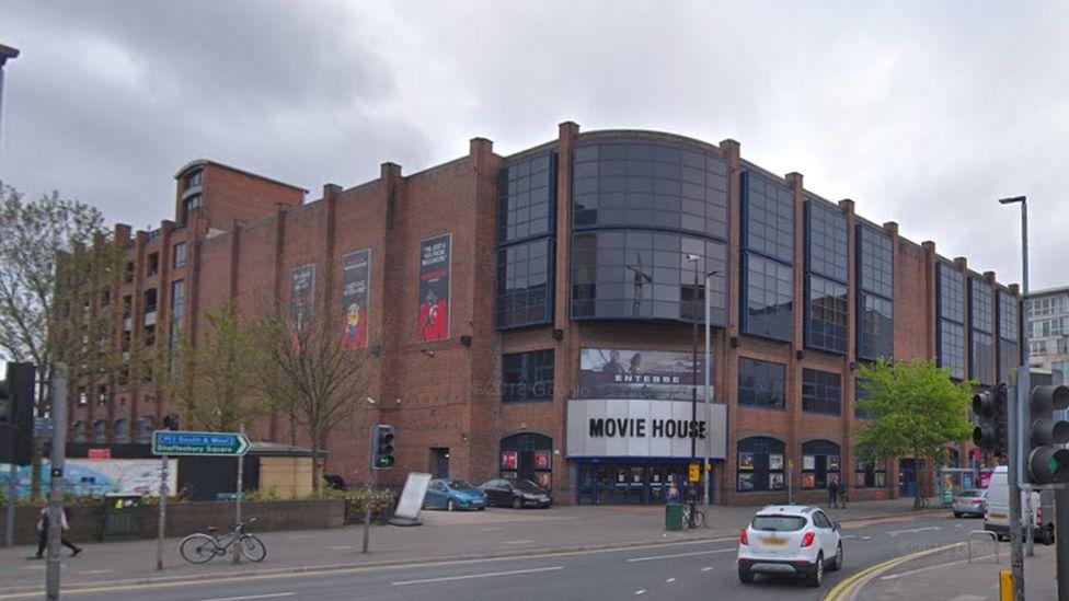 Movie house