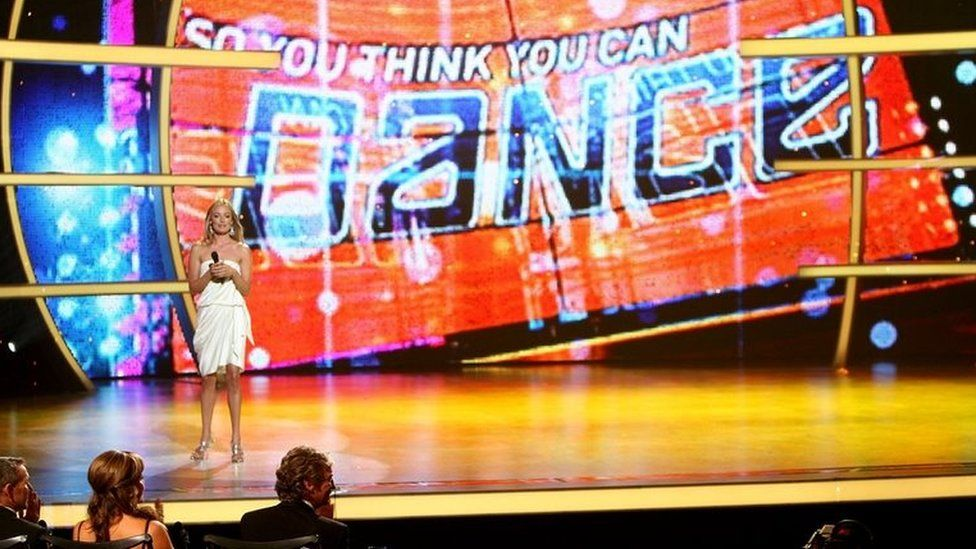 Cat Deeley on So You Think You Can Dance
