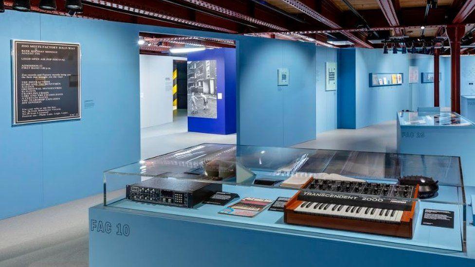 Factory Records exhibition