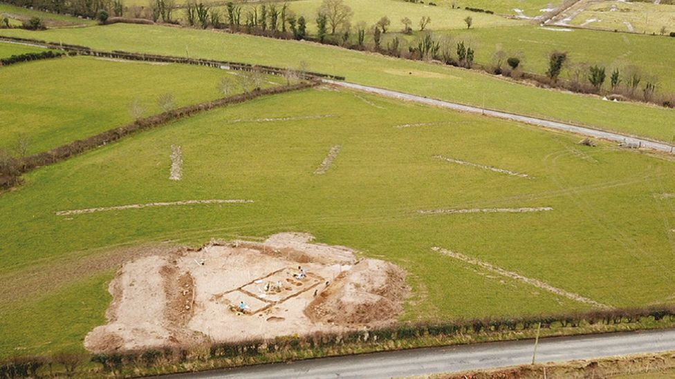 Excavation near A6 Dungiven