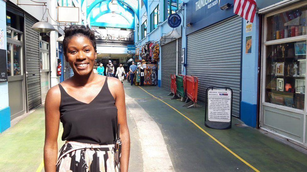 Diana Nabagereka in Brixton Village