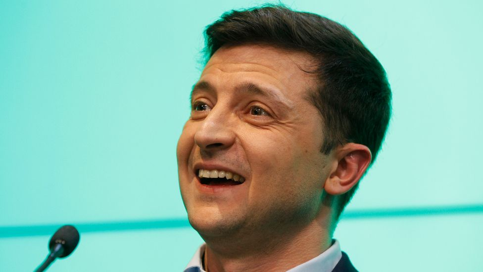 Ukrainian President-Elect Volodymyr Zelensky