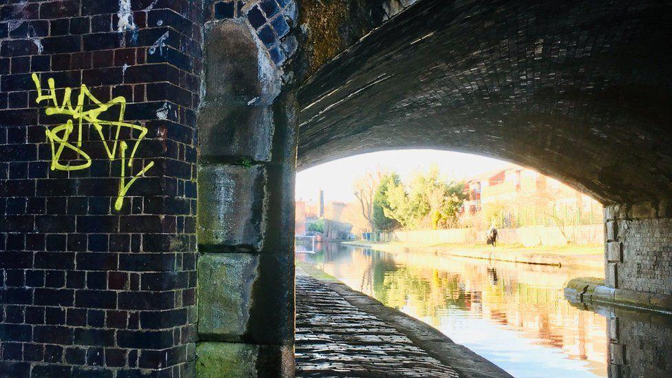Canal in Birmingham