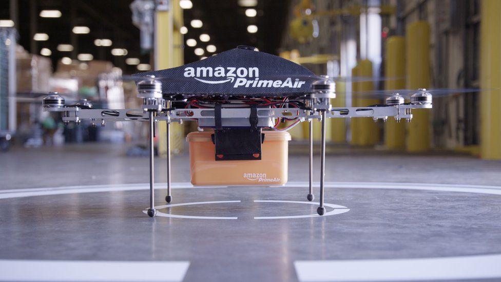 """An Amazon """"Prime Air"""" drone"""