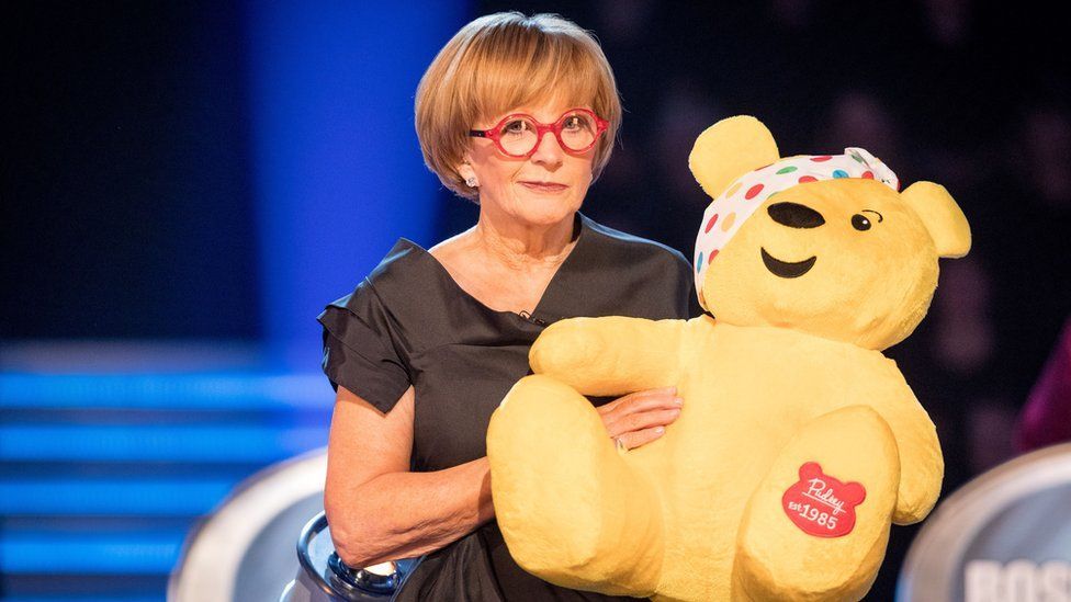 Anne Robinson and Pudsey
