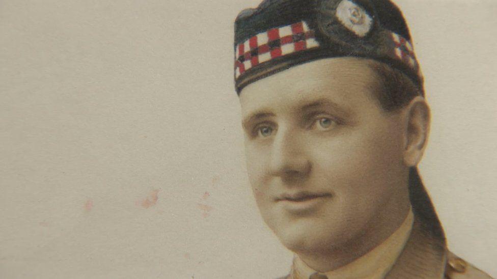 Captain Ian Bell from Edinburgh saw his best mate killed at Nebi Samuel