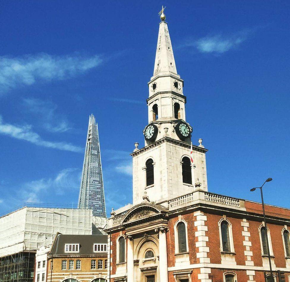 Church of St George the Martyr, Borough High Street, Bermondsey