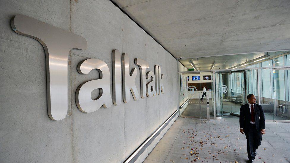 TalkTalk head office in London