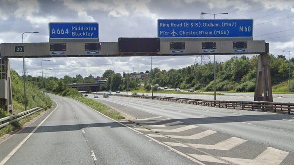 Junction 20 of M60