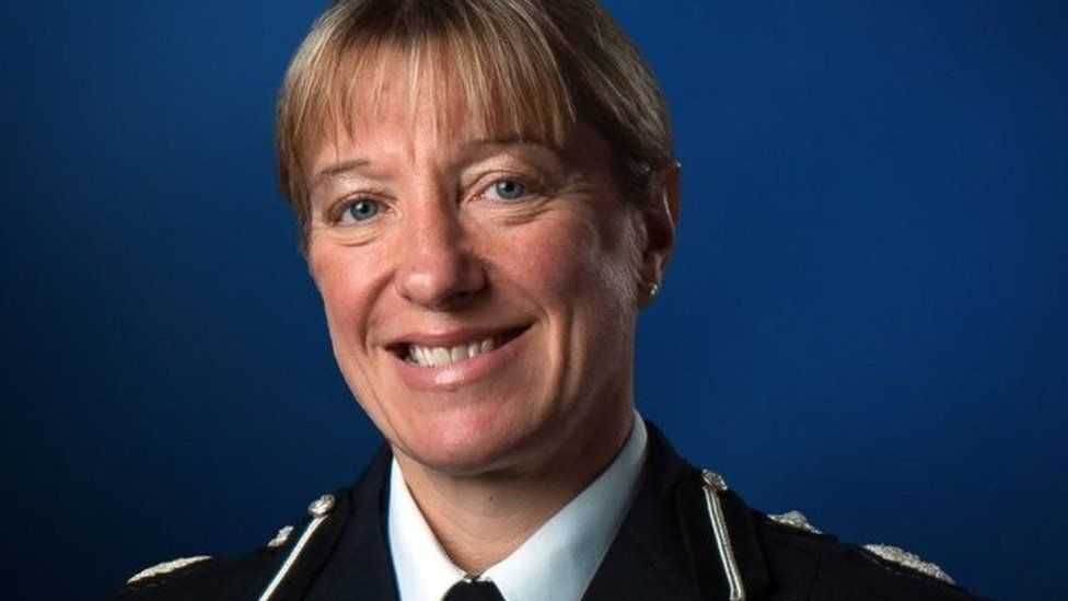 Jo Shiner, chief constable of Sussex