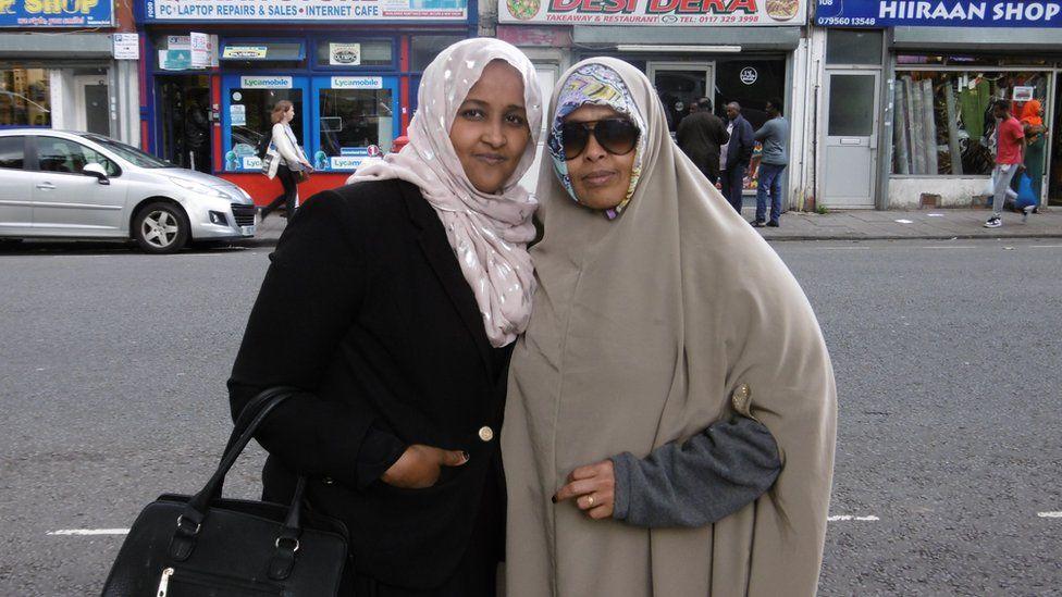 Somali voters in Bristol, the UK