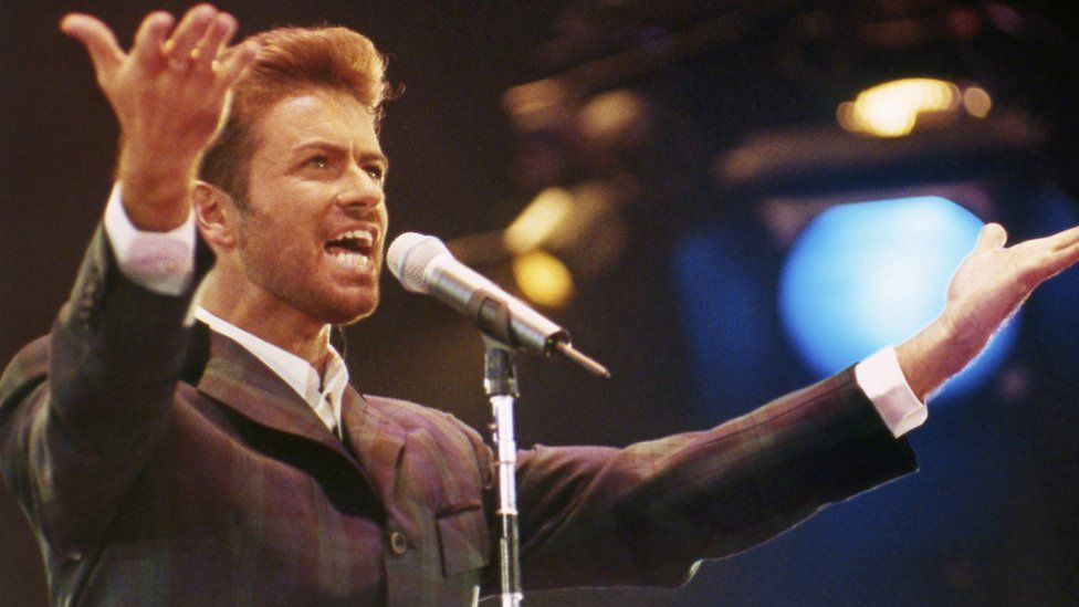 George Michael in 1993