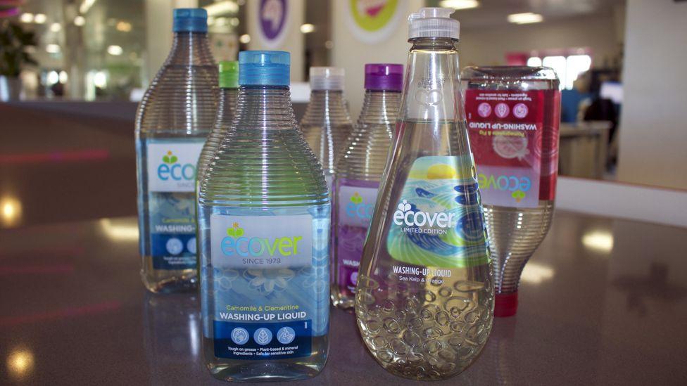 Ecover bottles