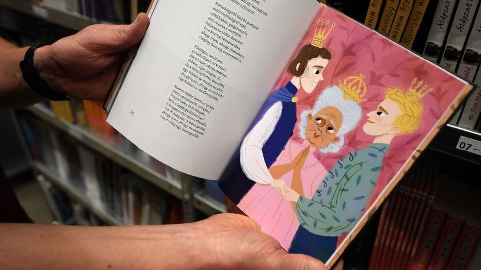 Controversial Hungarian children's book Wonderland Is For Everyone, 16 Oct 20