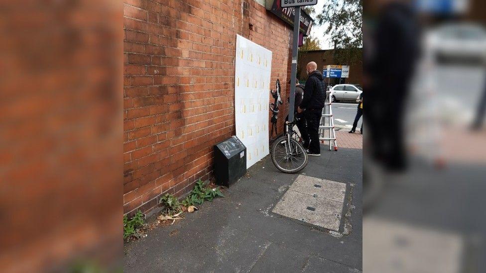 Graffiti artwork in Nottingham
