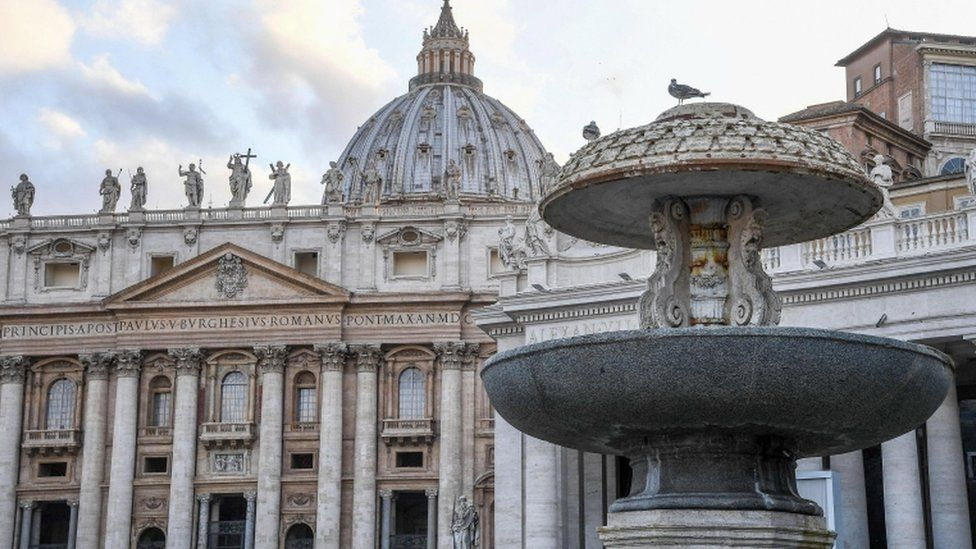 Fountains in the Vatican