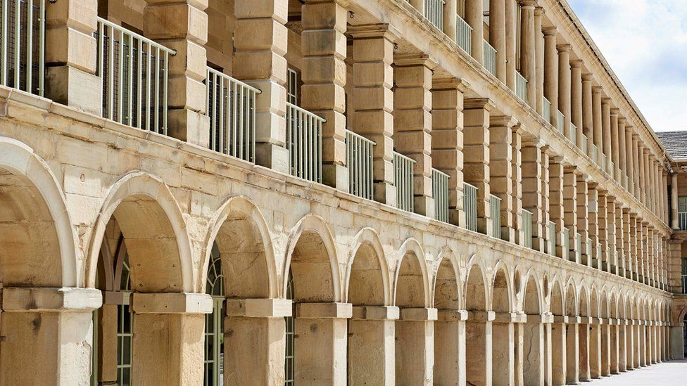 The design of the Piece Hall