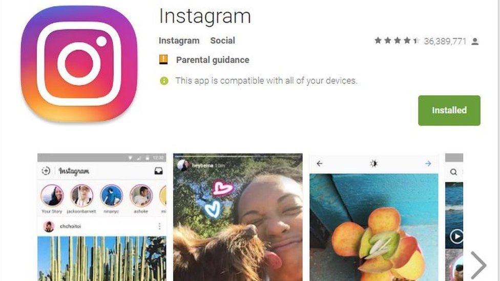 Instagram scam preys on bank followers - BBC News