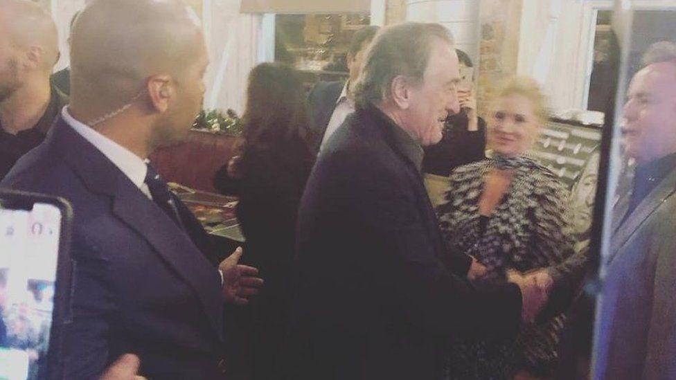 Robert De Niro at Ricci's Place