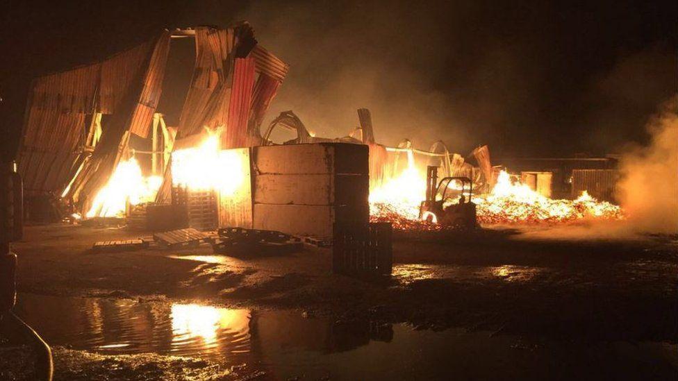 Fire in Enfield