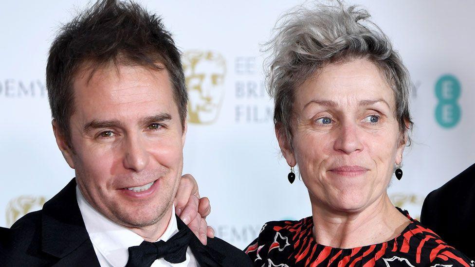 Sam Rockwell and Frances McDormand