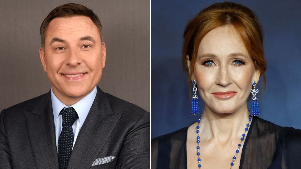 David Walliams and JK Rowling
