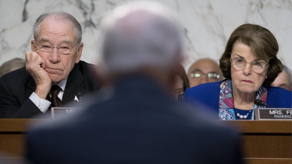 Mr Grassley and Mrs Feinstein
