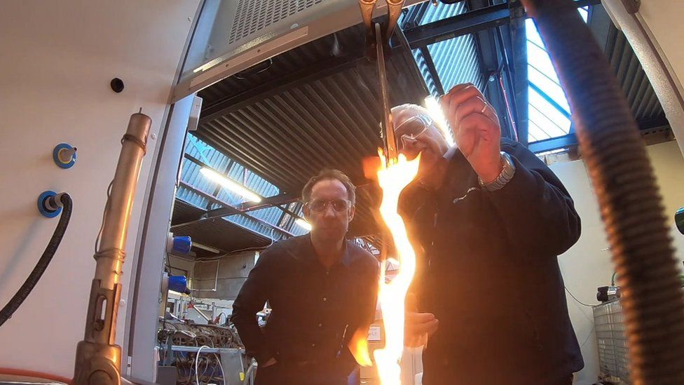 Cladding fire tests at Impact Solutions, Aberdeen