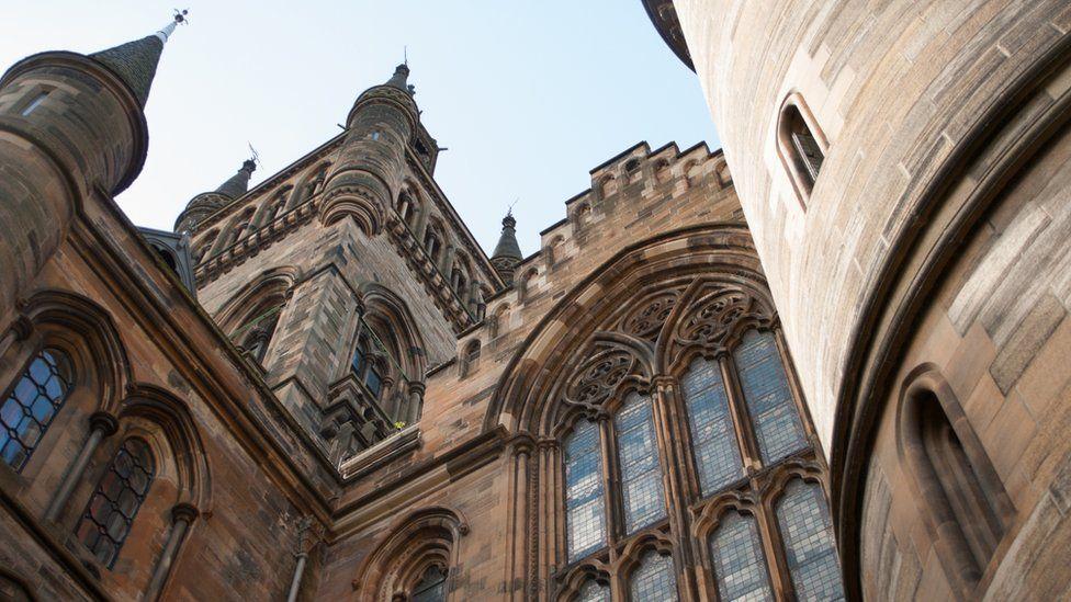 Glasgow University bell tower