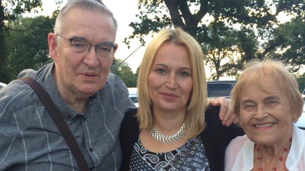 Allen Pattrick, Helen Pattrick and Jenny Pattrick