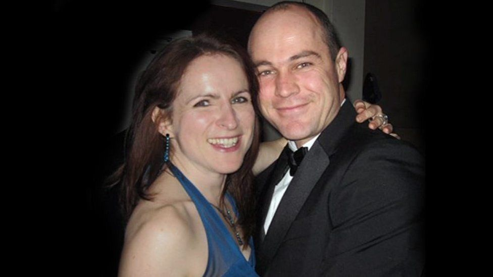 Victoria Cilliers and Sgt Emile Cilliers