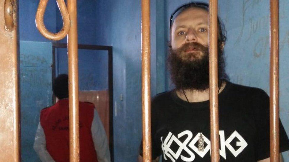 Skrzypski in jail