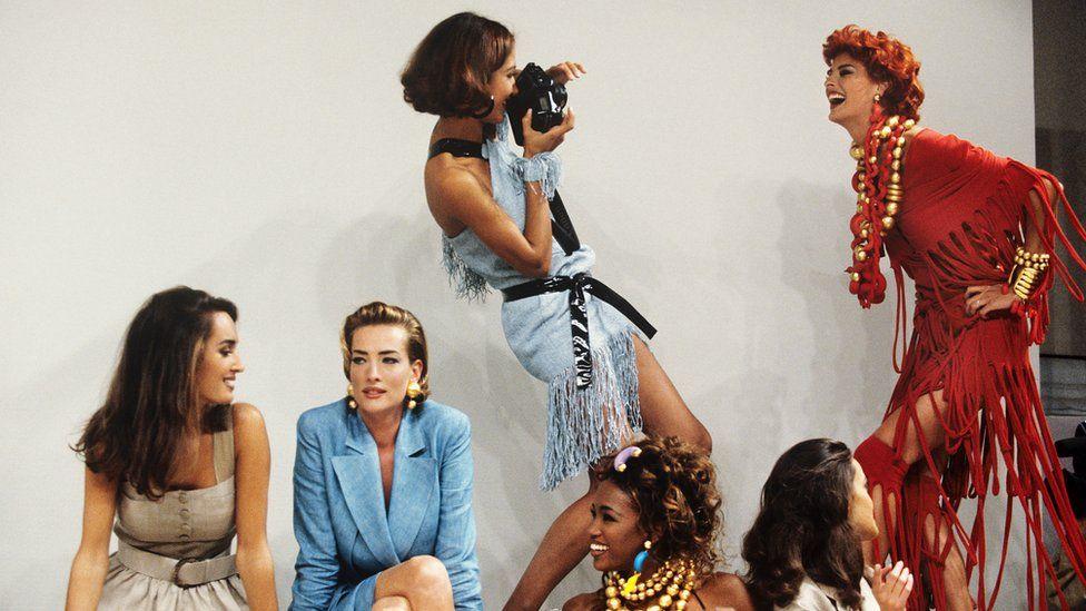 Supermodels modelling Fendi