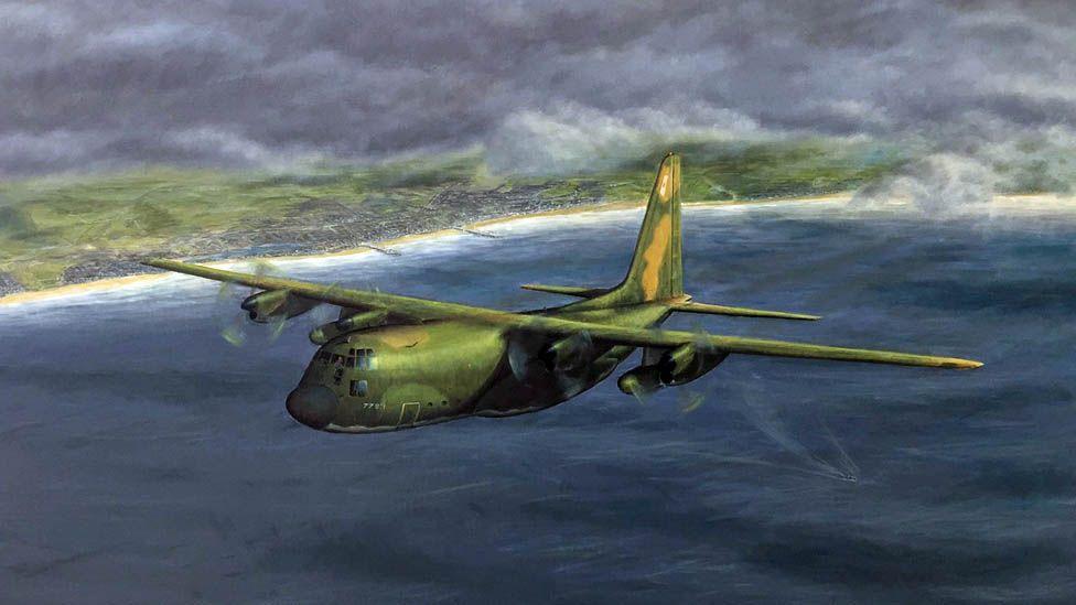Simon Cattlin's painting of Meyer's Hercules