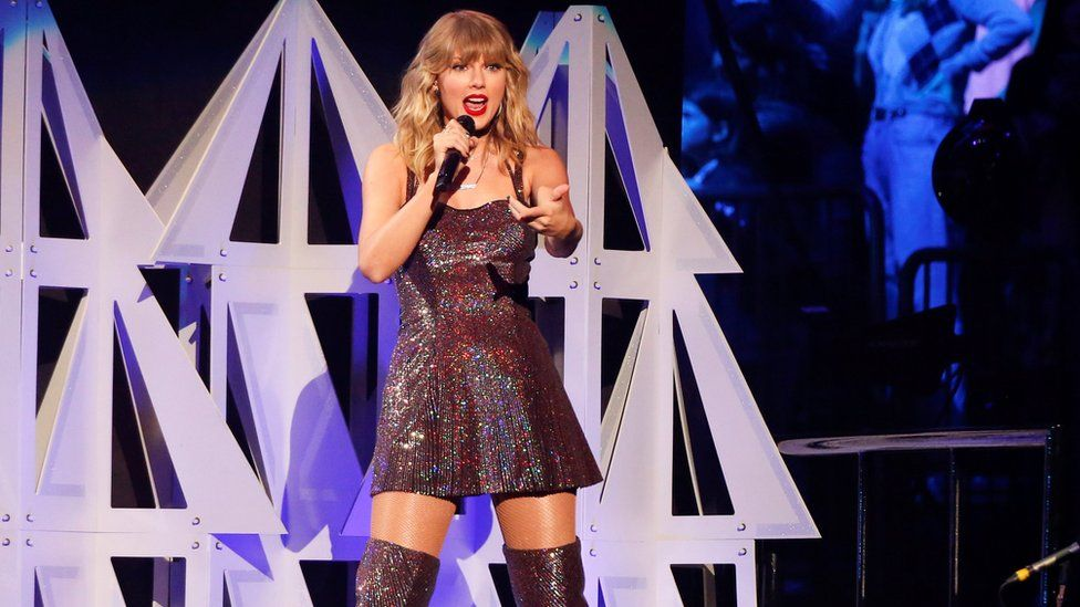 Taylor Swift to headline Glastonbury festival on Sunday