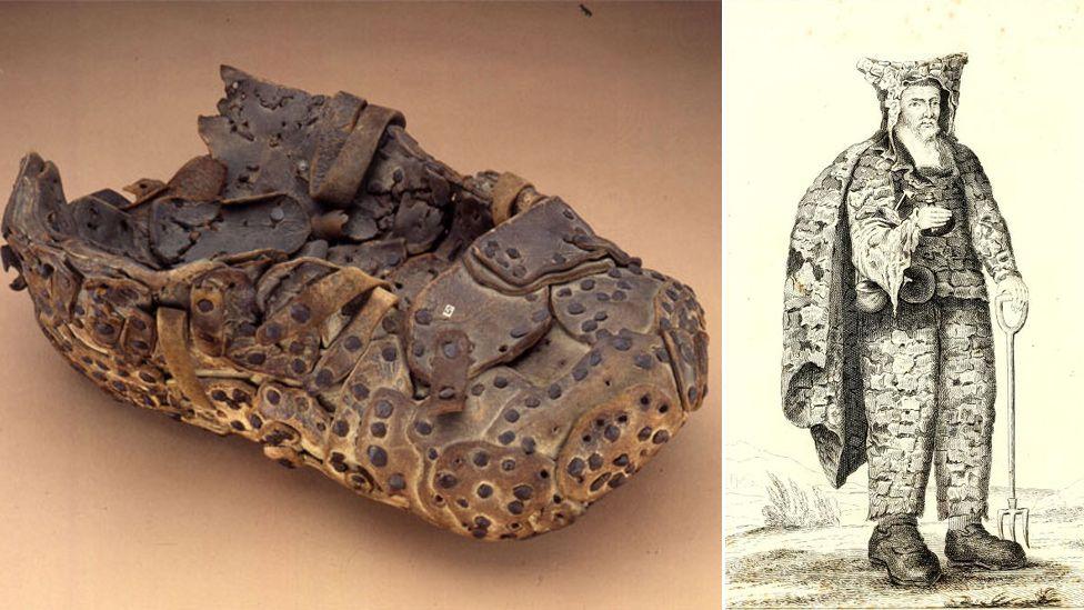 Dinton hermit's shoe