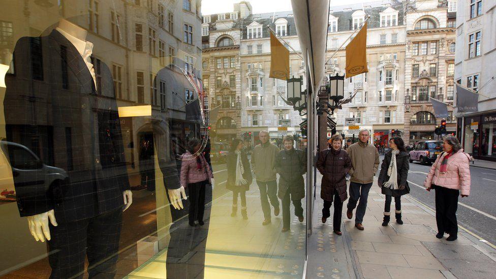 Bond Street clothes shop