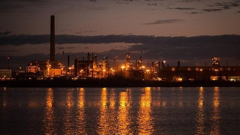 Canadian oil sands site