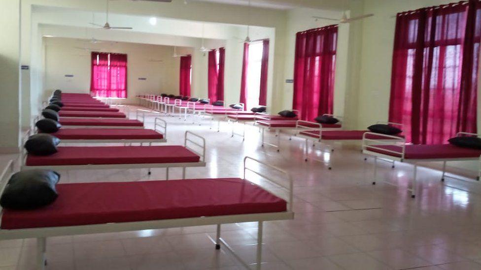 A quarantine ward in Kerala