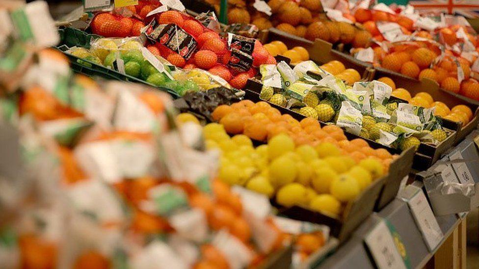 Morrisons fruit and veg