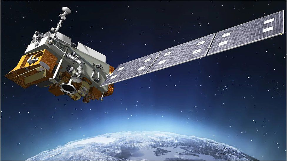 Artwork: Noaa-20 is an American low-orbiting satellite that feeds data into weather forecasts