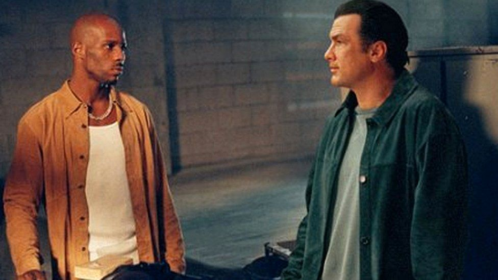 DMX and Steven Seagal in Exit Wounds