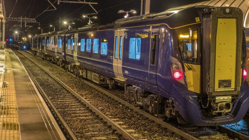 Scotrail Class 385 three-car unit