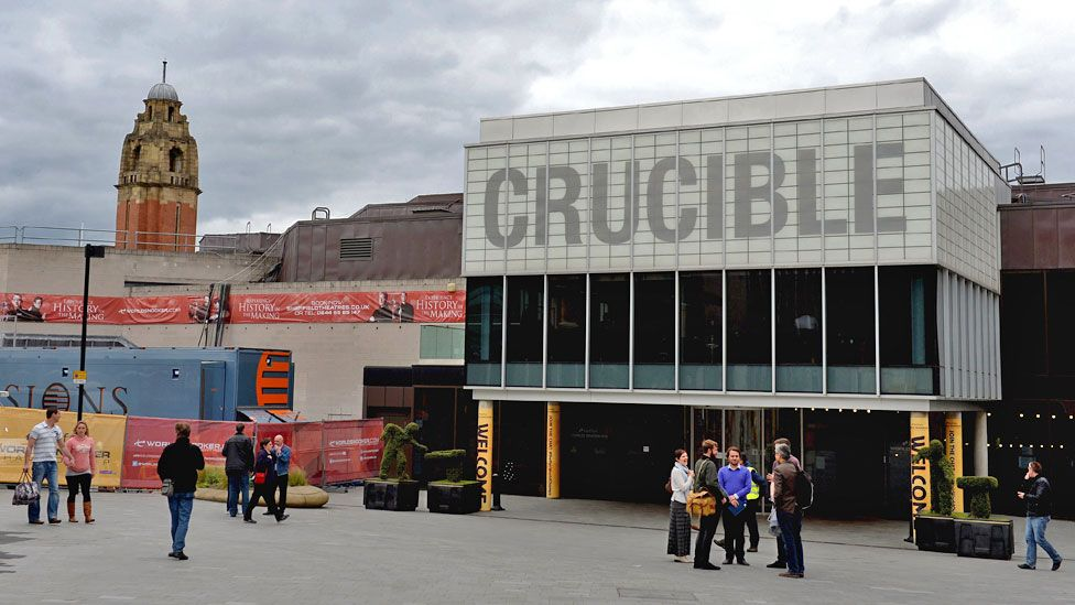 Crucible Theatre in Sheffield