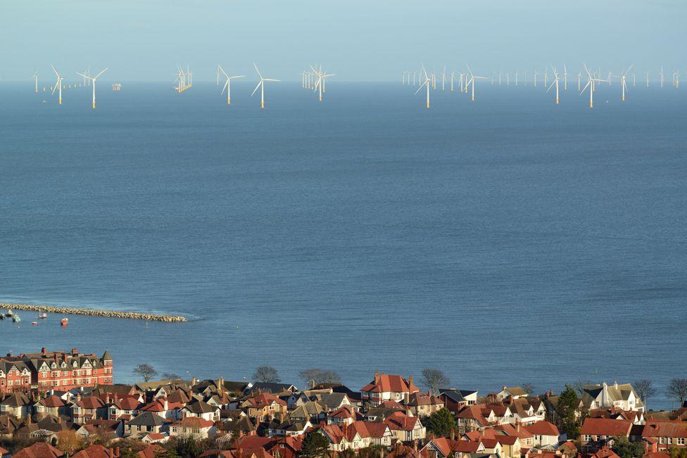 Offshore wind development off north Wales coast