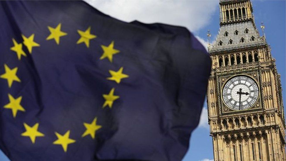 The UK's planned departure date from the European Union is coming swiftly down the tracks