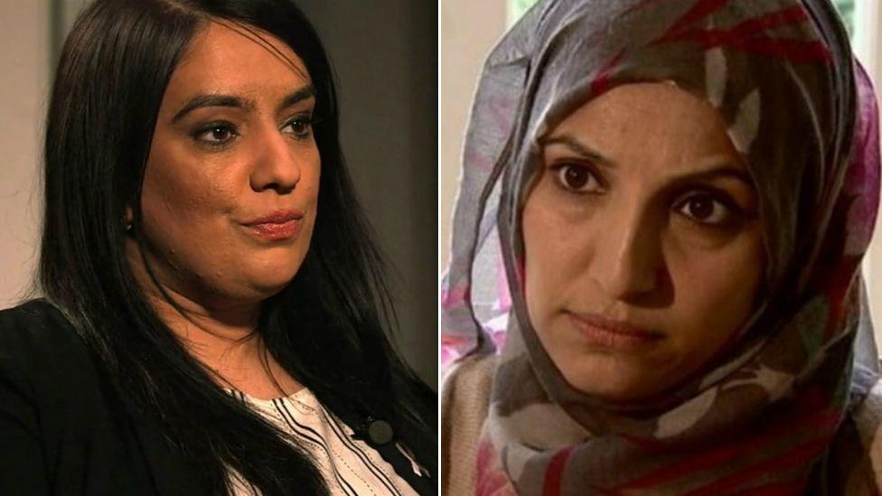 Naz Shah and Salma Yaqoob