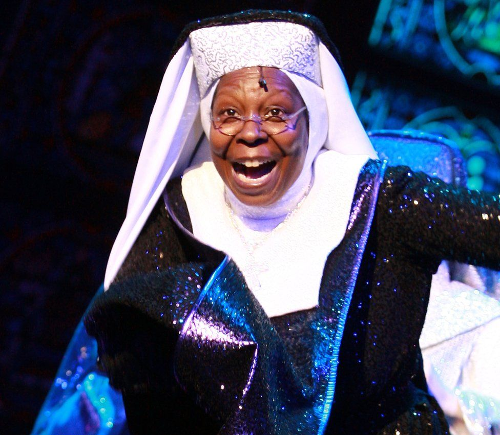 Whoopi Goldberg in Sister Act the musical