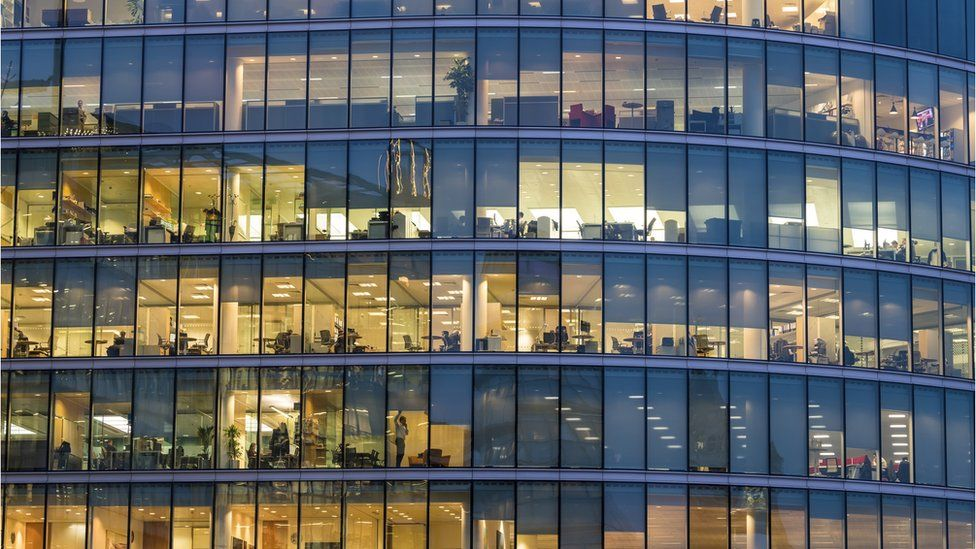 An office block