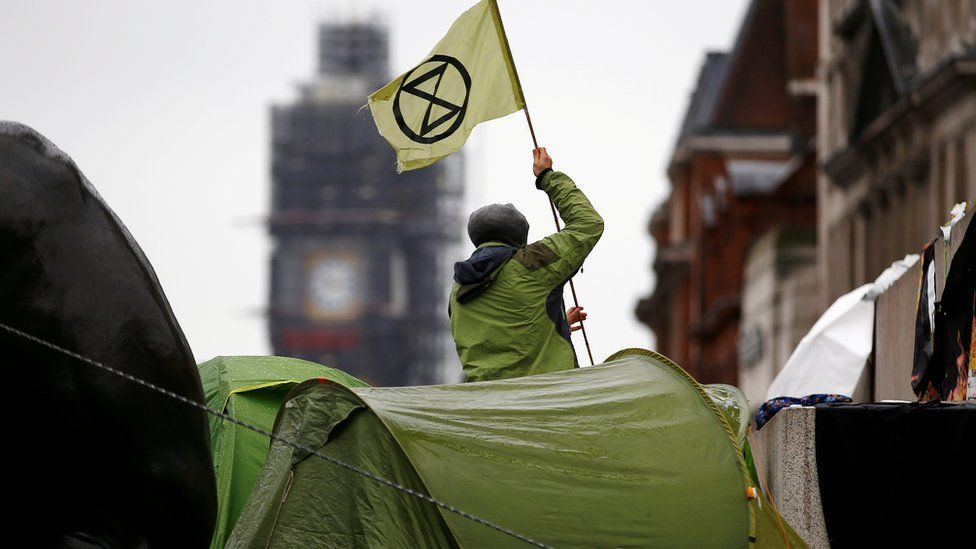 Extinction Rebellion: Police defend adding groups to extremism guide